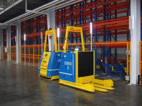 fork loading vehicles - FORK AGV