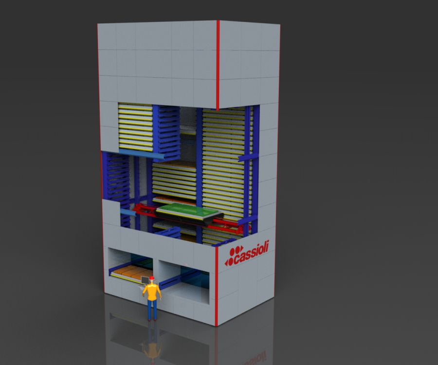 Magazzini verticali: Vertimax XL - Vertical warehouse