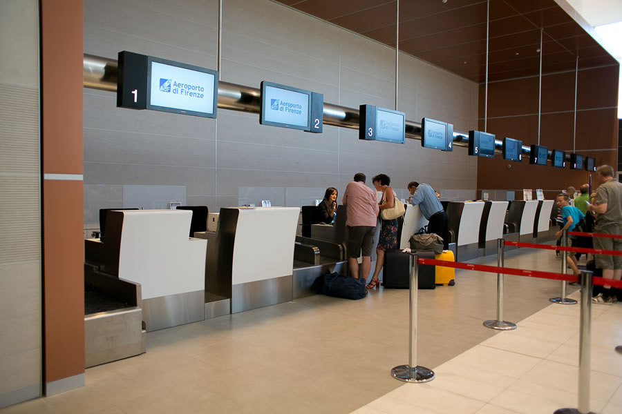 Baggage handling system - Cassioli Airport Division